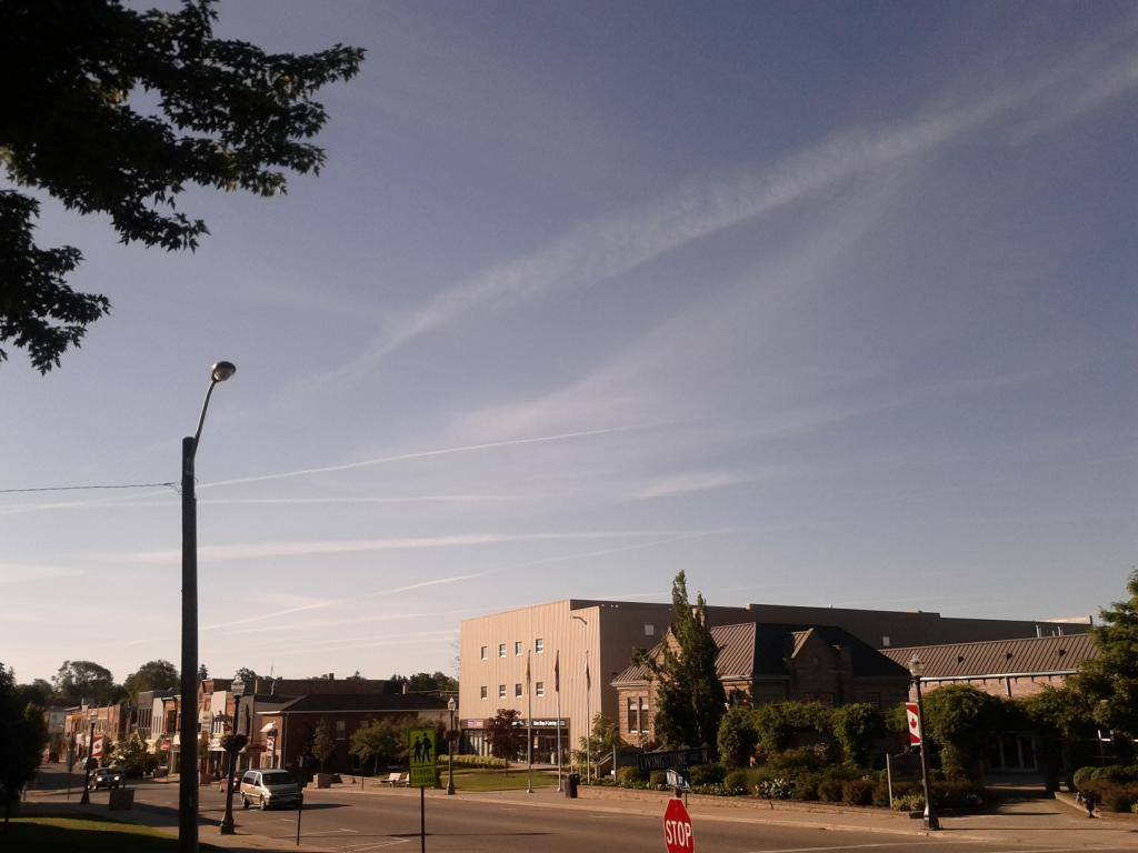 Chemtrail or Not... POST your own chemtrail pictures! Morningchemtrails