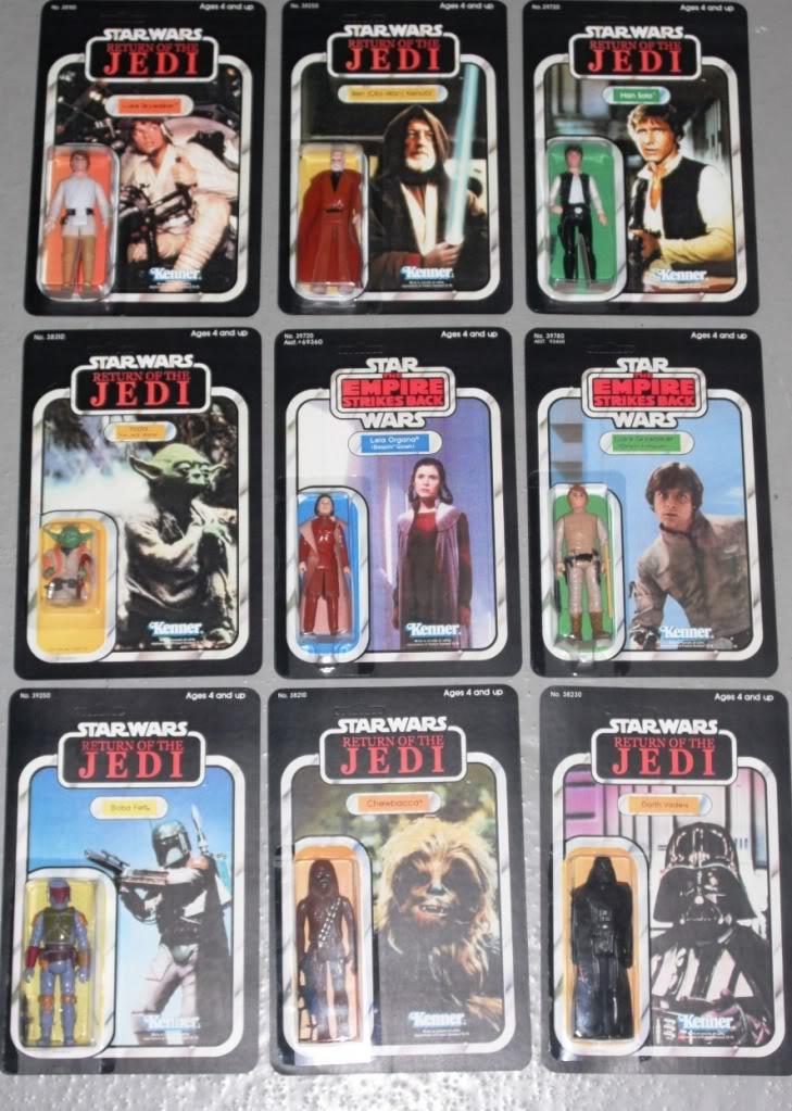 Vintage Star Wars Recards - Some Folk have more money than sense! Variants