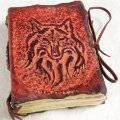 Austin's Closet Beautiful_Wolf_Leather_Journal_by_gildbookbinders-1