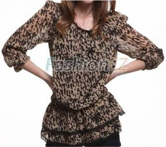 List Of Clothing - Page 2 Tiered-leopard-lace-blouson-ballon-sleeves-chiffon-womens-shirt-cy023-380x480
