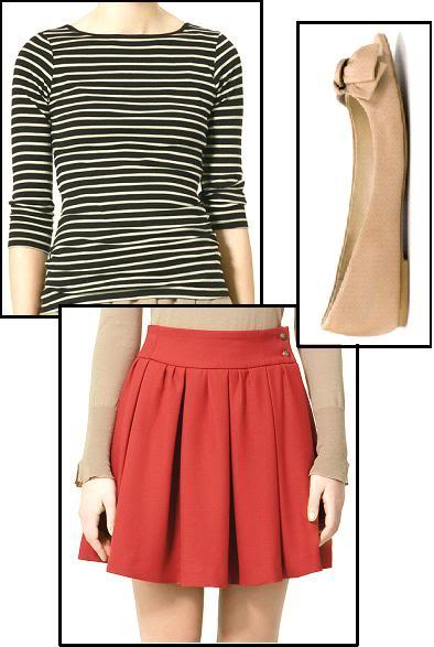 List Of Clothing - Page 2 Zara-top-skirt-flats-for-taylor-swift