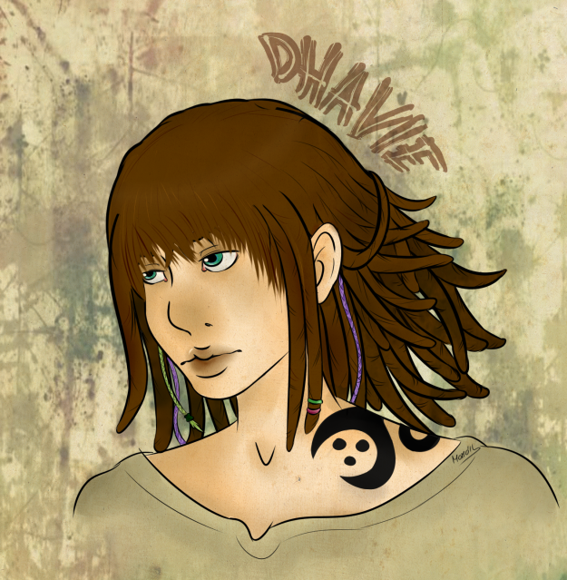 Fichas de personajes Dhaviecopia