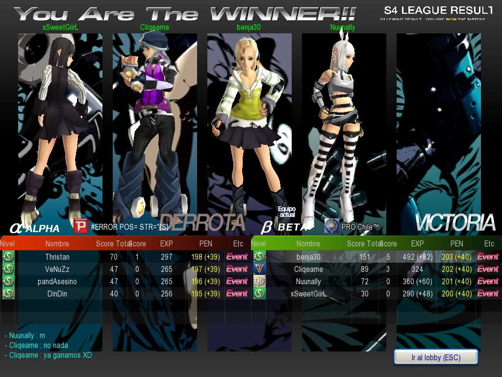 Revenge Vs. PRO.Chile™ Win S4_20091205_222054