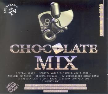Chocolate in Session Recopilatorio 1995-2007 [8/12 + bonus] Achocolatemix
