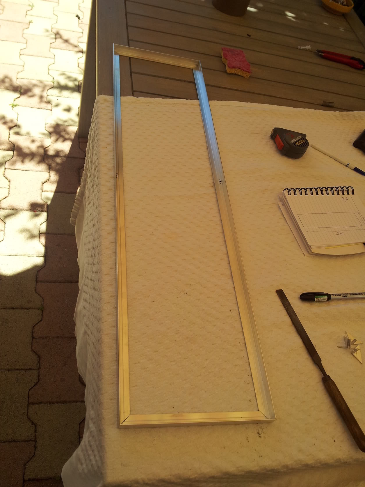 Fabrication galerie LED pour Juwel rio 125 (80cmx20cmx1.8cm) 20120712_154011