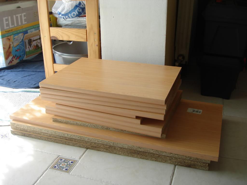 fabrication d'un meuble pour 2 aquariums DSC08811