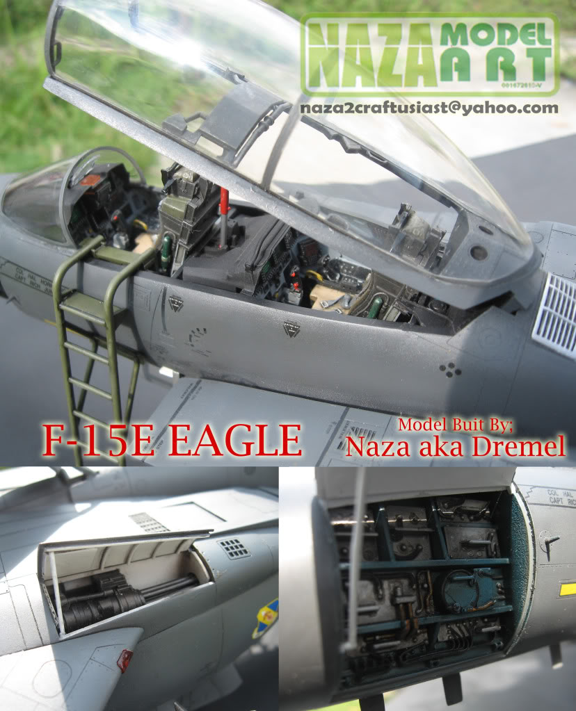 GALERI NAZA MODEL ART F-15eeagle