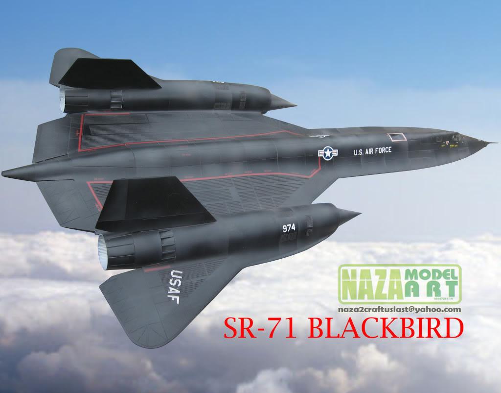 GALERI NAZA MODEL ART Sr-71