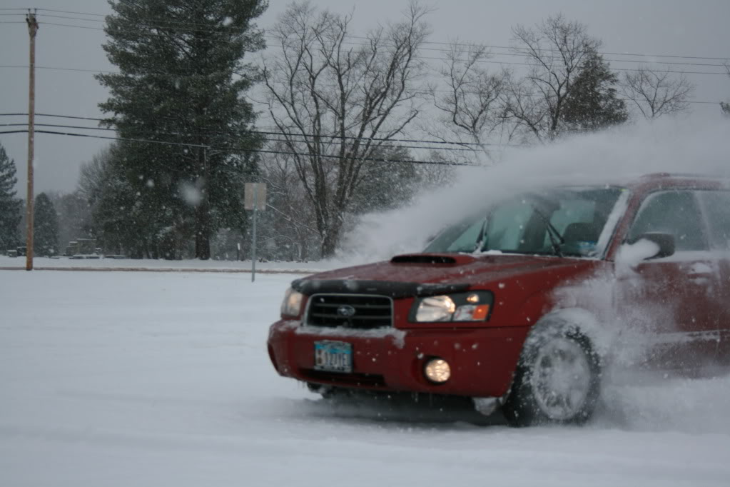 Subie's in the snow!!! 087