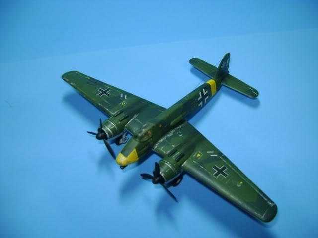 Henschel Hs 129 1/72 Lindberg DSC02377
