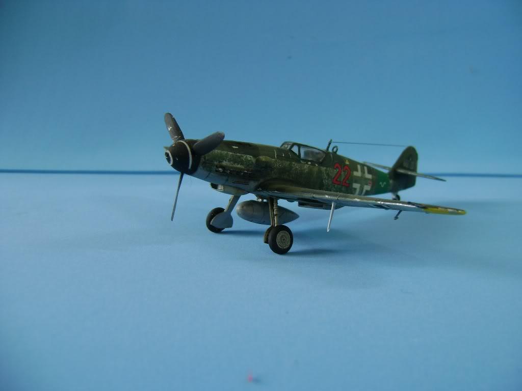 Messerschmitt BF-109 G-10 Revell 1/72 DSC02385