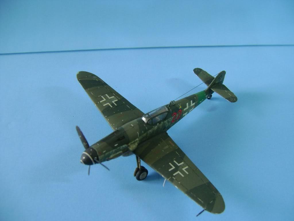 Messerschmitt BF-109 G-10 Revell 1/72 DSC02386