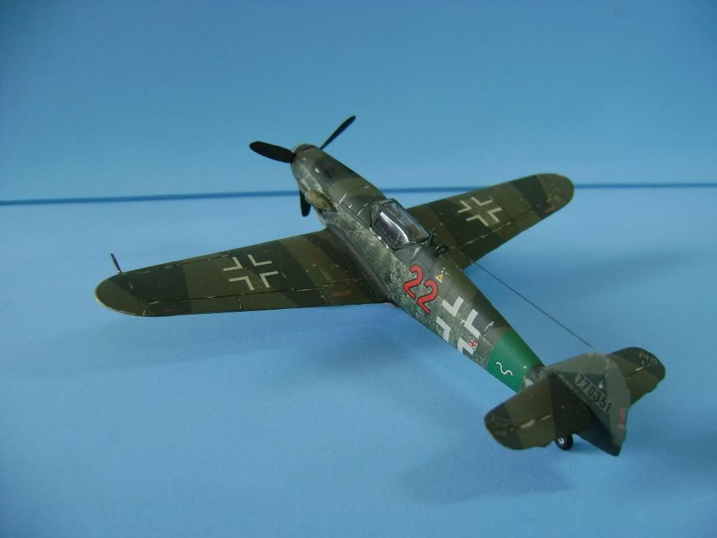 Messerschmitt BF-109 G-10 Revell 1/72 DSC02387