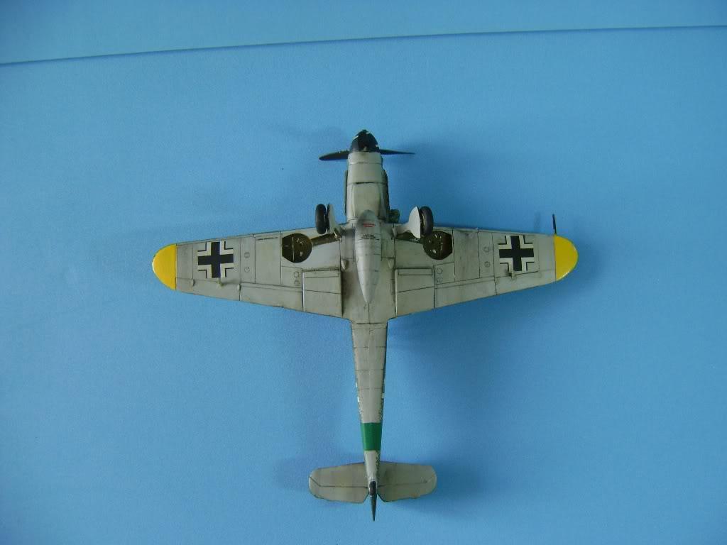Messerschmitt BF-109 G-10 Revell 1/72 DSC02388