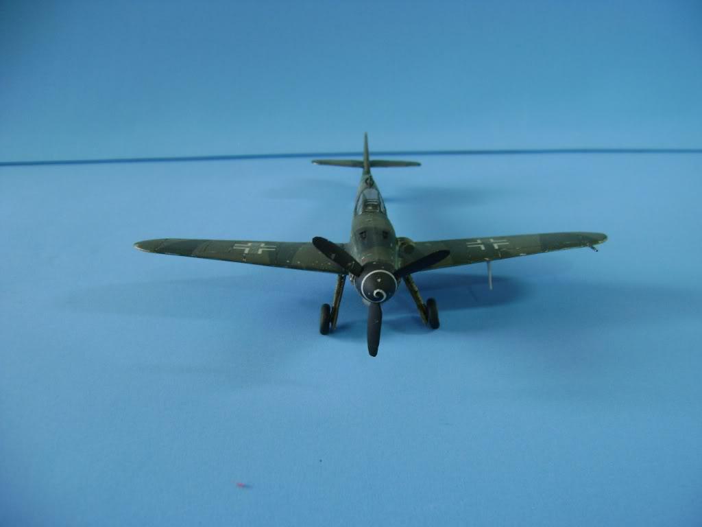 Messerschmitt BF-109 G-10 Revell 1/72 DSC02389