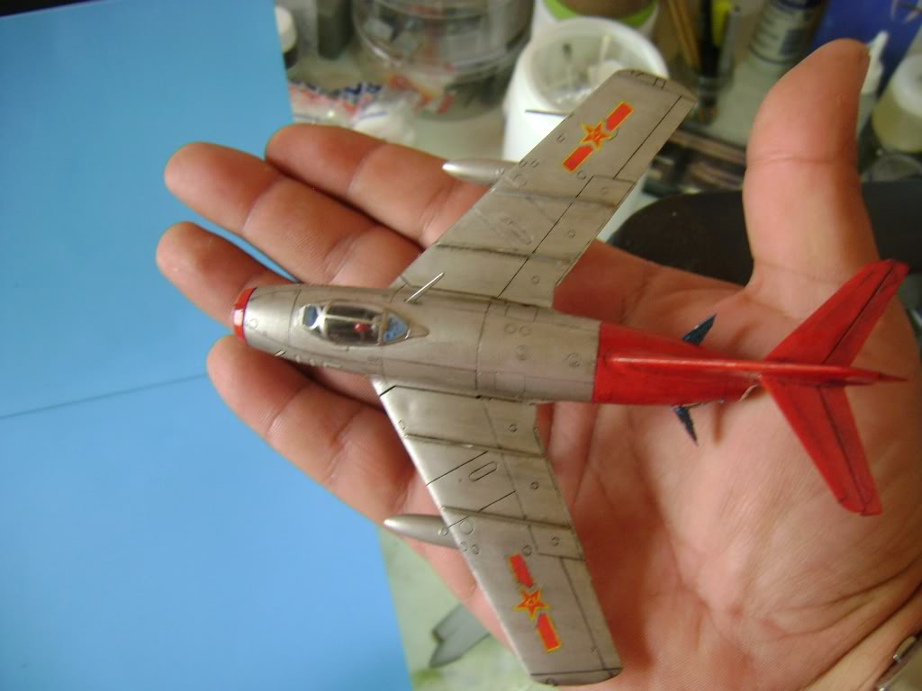 Mikoyan Gurevich MiG-15 Fagot 1/72 Hobby Boss DSC02390