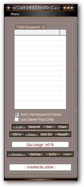 Bad Tool Cracker v4.9.0[Cracked] ll-.-oded-.ll BadPasswordCrackerv4905