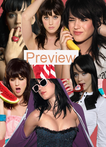 Renders Katty Perry PreviewKatyPerryRenderPack