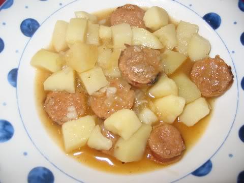 Hachis au steak haché ou aux saucisses Hachis-aux-saucisses