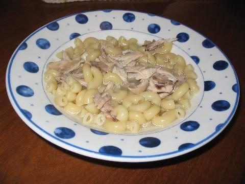 Macaroni au poulet spécial grippe Macaroni-au-poulet-spcial-grippe
