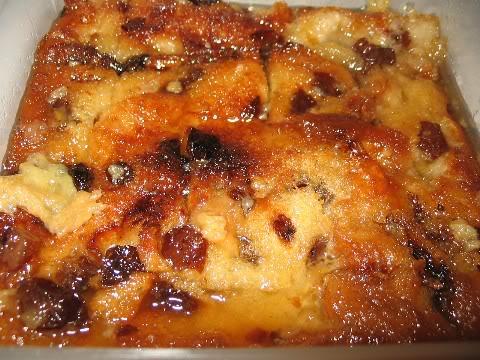 Pouding au pain au caramel Poudingpaincaramel
