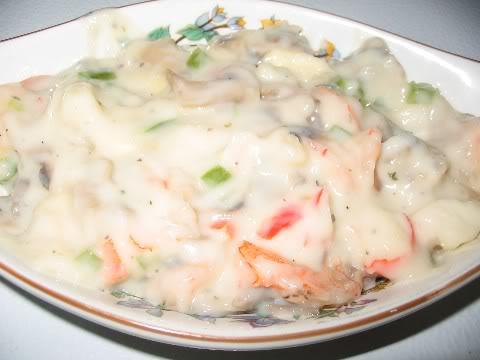 Ma casserole de fruits de mer spéciale Saucecasserolespeciale