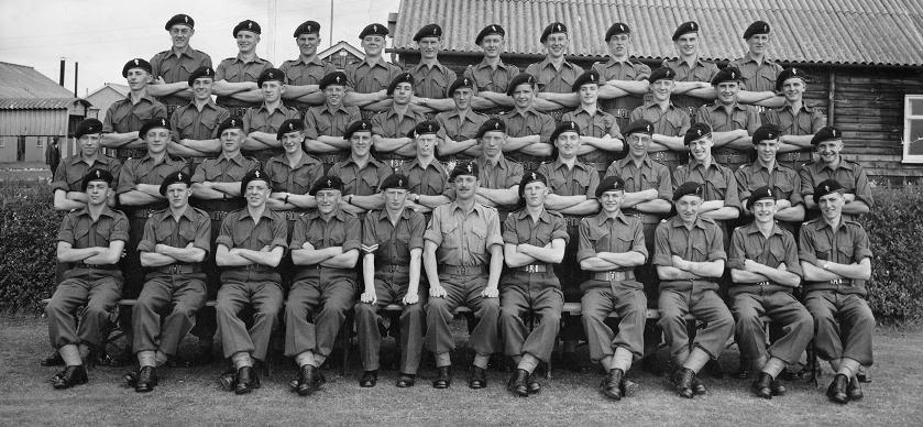 No 1 Trg. Bat.t REME Blandford Forum 1956 CCoyGroupBlandford