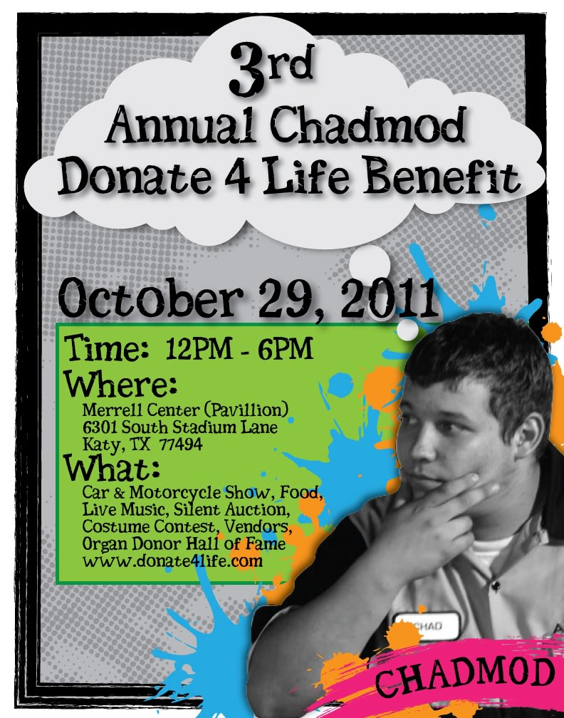 3rd Annual Chadmod Donate 4 Life Benefit: Sat. Oct 29th 4109a448