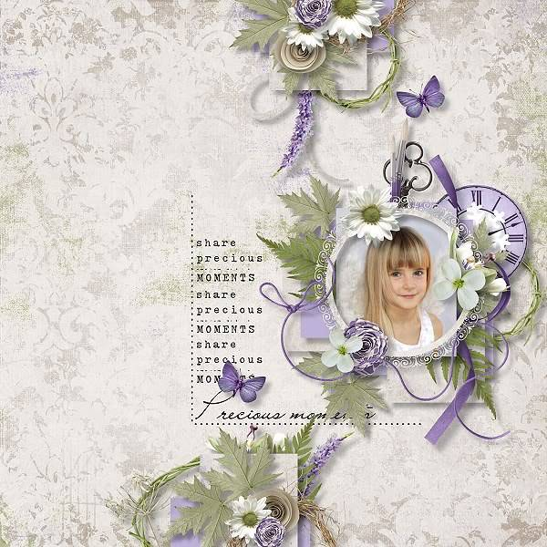 Christmas steps 4. - December 1th- Shabby Pickle Designs LavenderTime_CS4