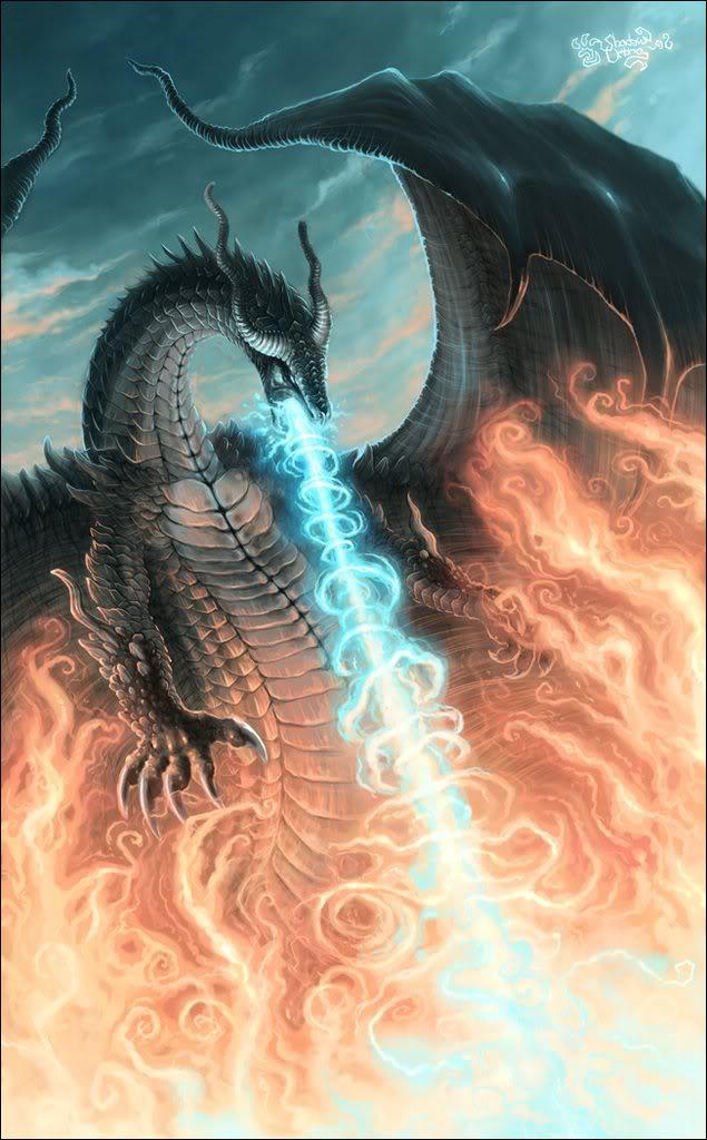 Loài rồng này thường sống trong các hang động đầy lửa và của cải. Chúng tàn  bạo và tham lam. Món ưa thích chính là lưu huỳnh mà thành này chứa rất ...