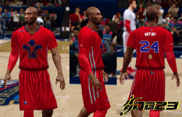 NBA 2K14 Official Jersey/Court of All-Star 2014 WestAway_zps4f916eac