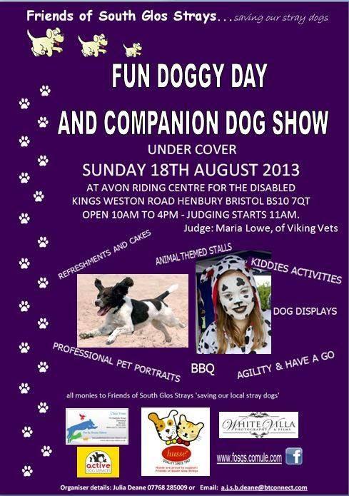 Fun family dog show just outside Bristol F0SSFunDay