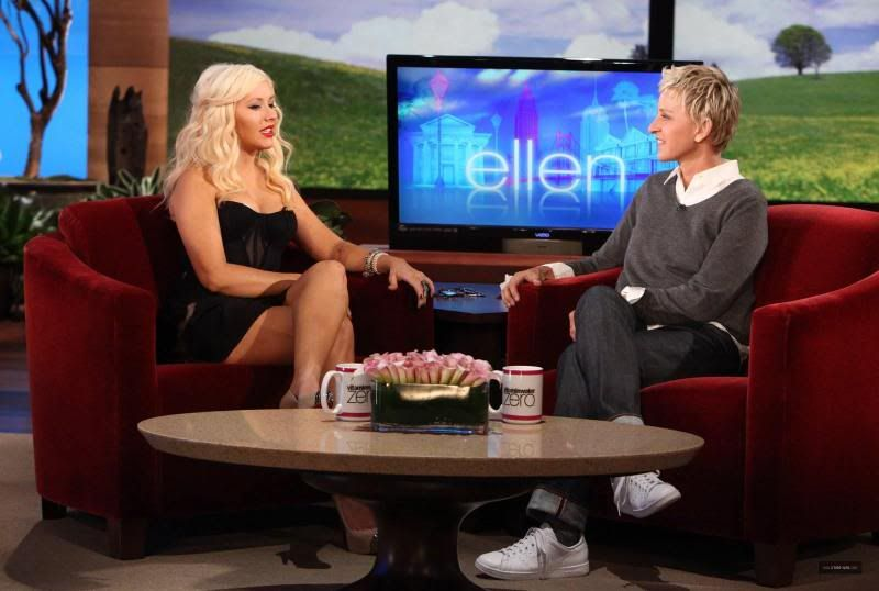 Christina on Ellen! Ellen-April26th2011
