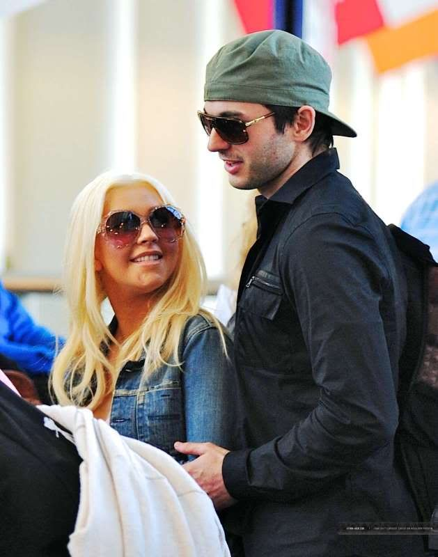 Christina & Matt at LAX (30/05) LAX-April30th2011