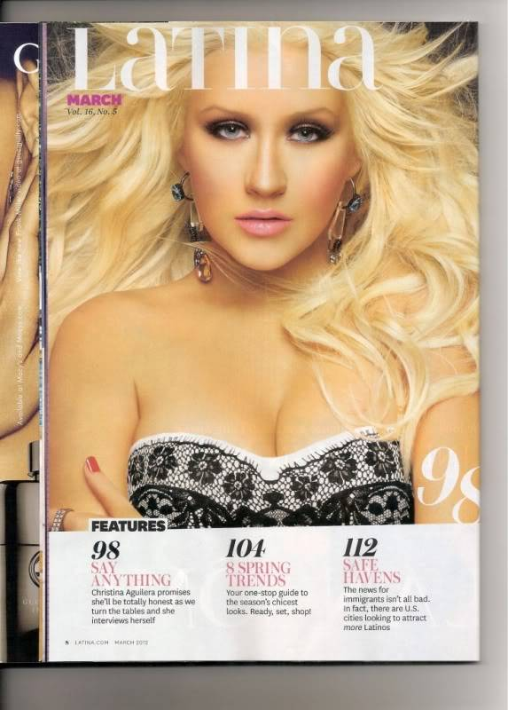 Latina Magazine Latina-March20123