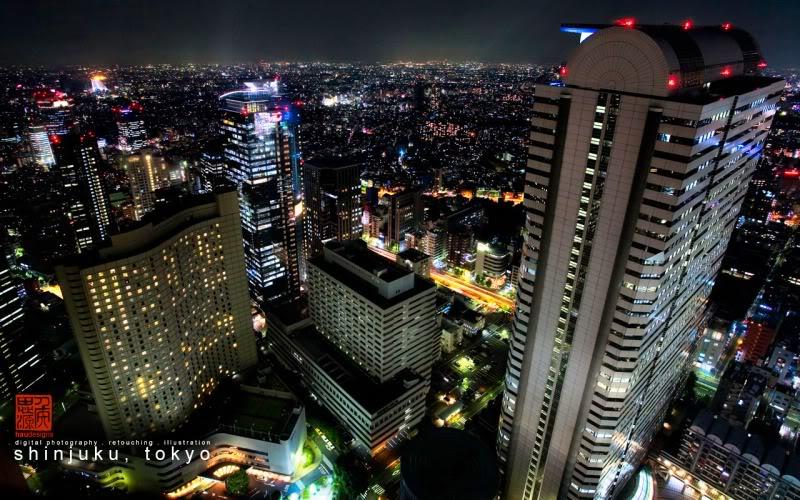 அழகிய டோக்யோ நகரம் படங்கள் சில Shinjuku