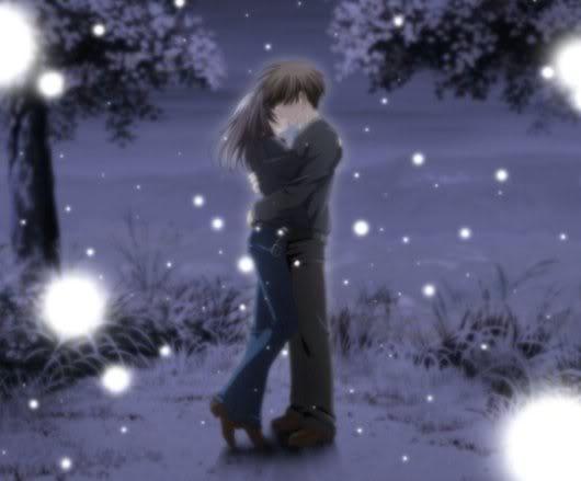 ~Romanticas...~ AnimeCoupleKissWinter