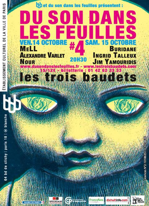 Festival DU SON DANS LES FEUILLES #4 Oct.2011 WEB_fly_dsf04_01