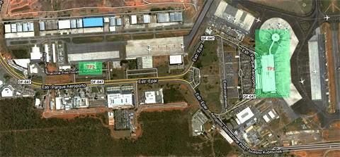 Aeroporto de Brasília BSB-terminais