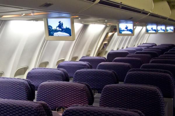 Voando na Copa Airlines, Executiva e Econômica. O Que Esperar? Sistema-entretenimento