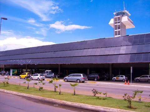 Aeroporto de Brasília Fachada-bsb