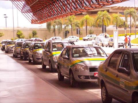 Aeroporto de Brasília Taxi-bsb