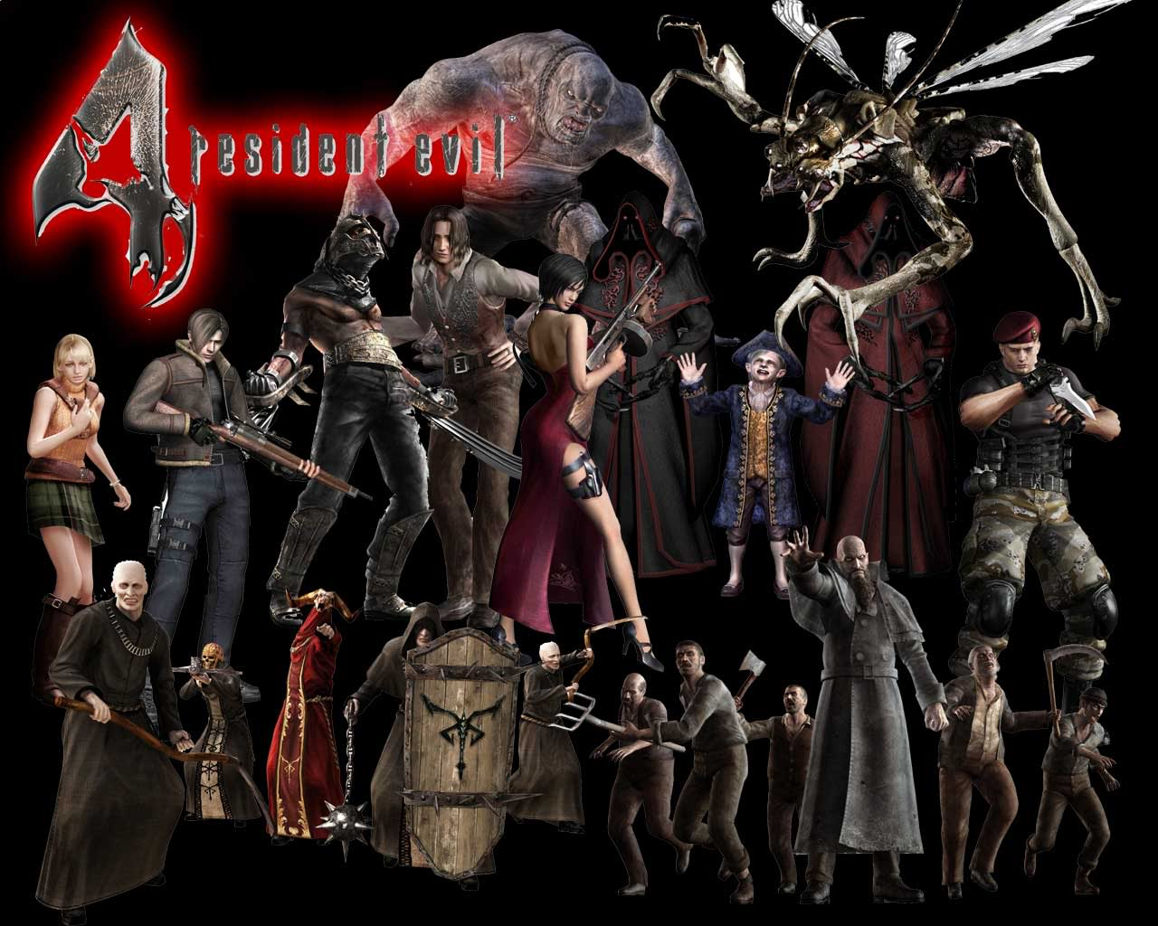 resident evil 4 descargalo yaa ea Residentevil4wallpaper