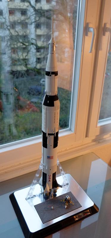 Bandaï Saturn V Apollo 11 & 13 au 1:144, bientôt reproduites DSCF2514