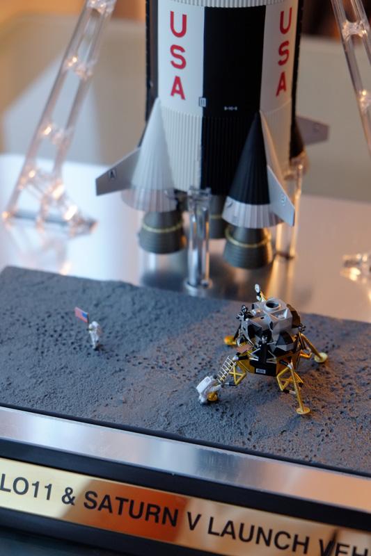 Bandaï Saturn V Apollo 11 & 13 au 1:144, bientôt reproduites DSCF2516