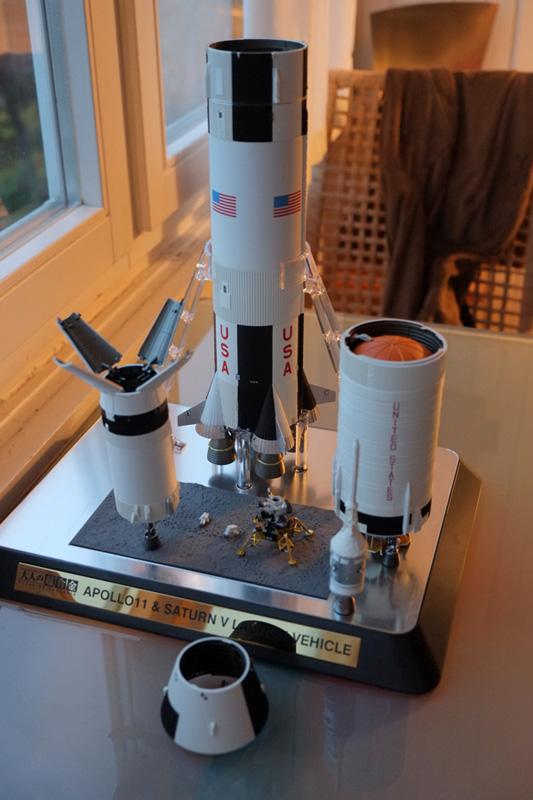 Bandaï Saturn V Apollo 11 & 13 au 1:144, bientôt reproduites DSCF2535