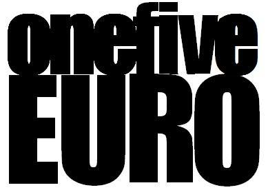 OneFiveEuro stickers ONEFIVEEURO
