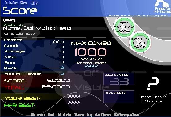 ~Z~ FFR Scores. DotMatrixAAA