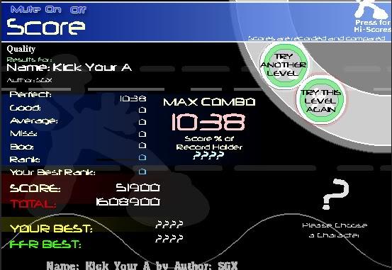 ~Z~ FFR Scores. KickYourAAAA