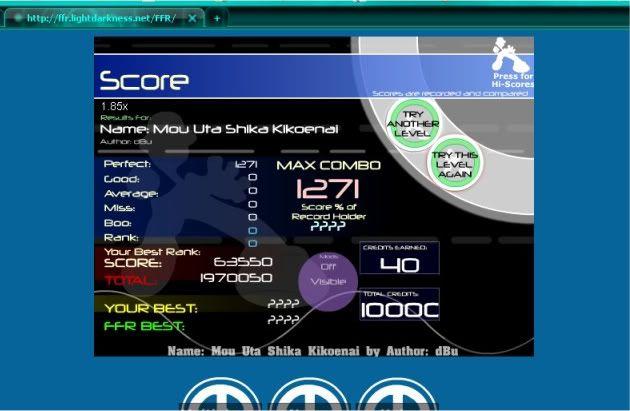 Post your FFR Scores here! - Page 4 MouUtaShikaKikoenaiAAA